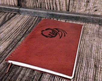 Leather Journal, Customized Notebooks