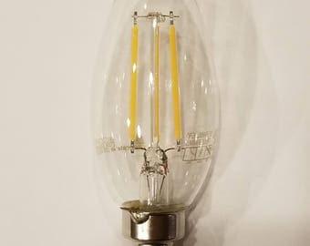 4 watt (40 watt equivalent) LED bulb - E12 candelabra base bulb