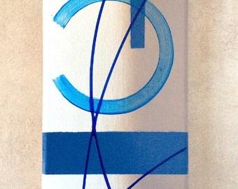 Tableau abstrait par l'Atelier de Corinne
