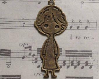 Great little boy charm bronze