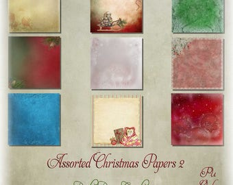 Assorted Christmas Papers 2