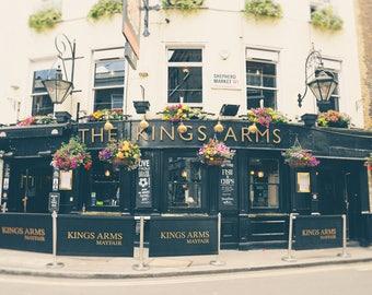 London Pub Print, London Photography, British Decor, Fine Art Print, Travel Photo, English Pub, Europe, England, Office Decor, Wall Art