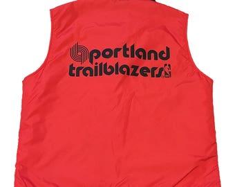 Vintage Portland Trail Blazers Vest