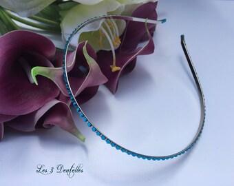 Turquoise rhinestone shakes * 3 lace *.
