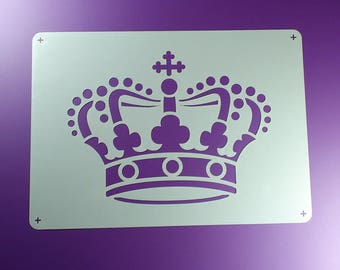 Stencil Crown Crown Royal Crown-BE04