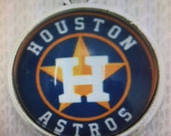 Houston Astros Baseball Charm