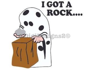 Charlie Brown Halloween Heat Press Transfer