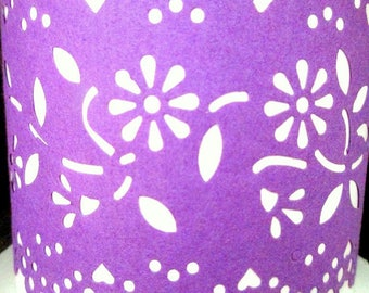 Vintage Roll Purple Maxi Paper Lace for Bows, Packages, Floral Arraignments, Trimmings, Craft Supply, Decoration and Embellishments, Dollies