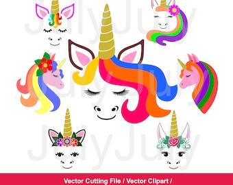70 % off, Flower Unicorn svg, Unicorn SVG, Unicorn Head Svg, Unicorn Face SVG, Unicorn Clip Art, svg, dxf, eps, png,  jpg, pdf