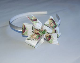 Little Girl Hairband with Trilli Bow