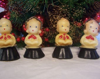 Set of Gurley Choir Boys & Girls Candles, 1950