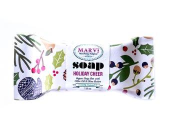 Holiday Cheer Soap | Holiday Soap | Gift Item | Bestseller | Cold Process | Natural | Vegan