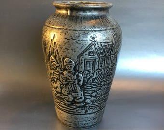 Medalta Pottery Vase Vintage Antique Medicine Hat Potteries Alberta Canada