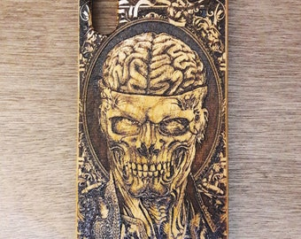 Brain Dead Phone Case iPhone 7 Plus, Akihito, Wooden Samsung Galaxy S9 Plus, iPhone X Case, Samsung Cover, iPhone 8 Plus ,Cover Cell Phone