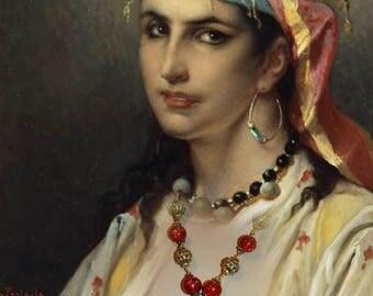 Antique necklace - the ORIENTALIST