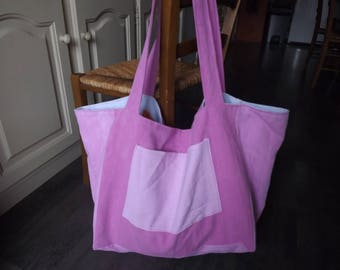 Great bag to hand/reversible Tote, lightweight tie - dye with pockets