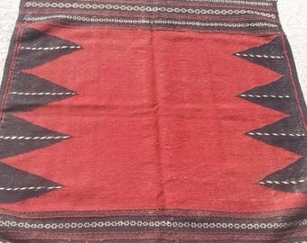 30%OFF DISCOUNT Size:4 ft by 3.10 ft Handmade Kilim Vintage Afghan Tribal Sofreh Kilim