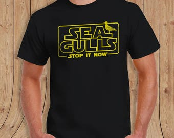 Seagulls Stop it Now T Shirt - special edition - Gifts for him - limited quantities