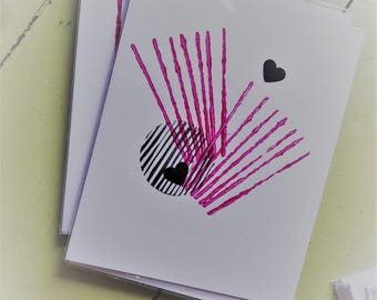 Lines and Circles card