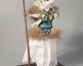 Taxidermy Mouse Valkyrie