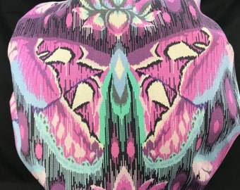 Butterfly Suprise Tula Pink Scrub Hats Surgical Cap Bouffant Tech Nurse Surgeon Caps OR Surgery Hats Vet LoveNstitchies Purple Lavender Aqua