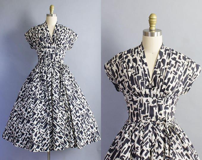 1950s Suzy Perette Dress/ Small (34b/26w)