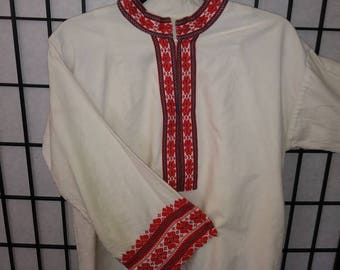 Hand stitched vintage tunic