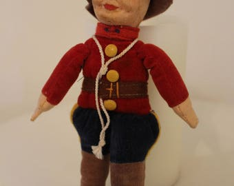 """Norah Wellings- 7"""" Candian Mountie, hand made in England,high quality  in good condition"""