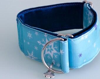 ELSA  Limited Slip 4cm Adjustable Martingale Dog Collar for Medium Sighthound