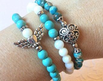 Stack bracelet set