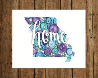 HOME | Missouri | Digital Print | Calligraphy | Watercolor