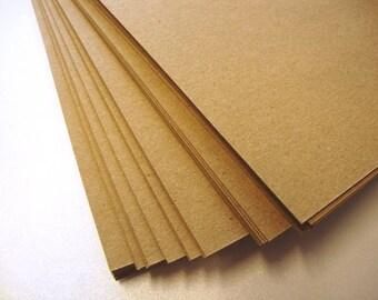Natural Kraft Fleck Card/Paper Recycled 170gsm