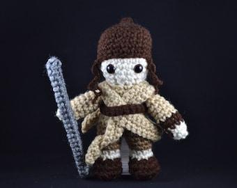Rey the Scavenger Amigurumi