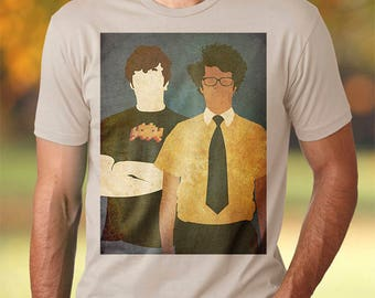 The IT Crowd t-shirt tv tshirt the it crowd tshirt Roy Moss tshirt Geek shirt Geek tshirt England