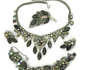 Juliana Black Diamond Grand Parure