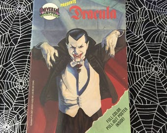 DRACULA (Official Universal Studios Monsters Paperback Junior Novelization by Mike Teitelbaum)