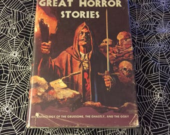 GREAT HORROR STORIES (Hardcover Anthology Compiled by Rosamund Morris)