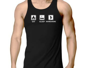 Eat Sleep Snowboarding Tank Top