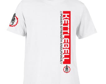 Pro Design Kettlebell Lifting T-Shirts Casual / Gym Training Workout Fitness SP. Free Shipping.