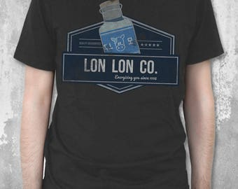 Lon Lon Co - The Legend of Zelda T-Shirt Zelda inspired Lon Lon Ranch Shirt   Video Game Tee