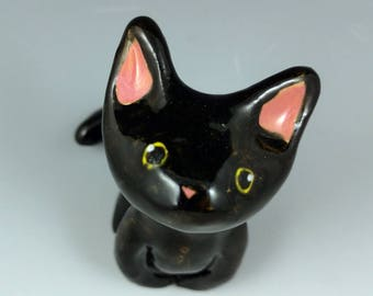 Black Cat Figurine