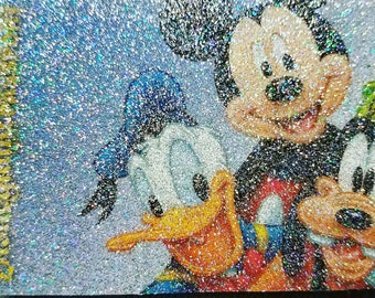 Glitter Overlay Decal for Disney Annual Passports