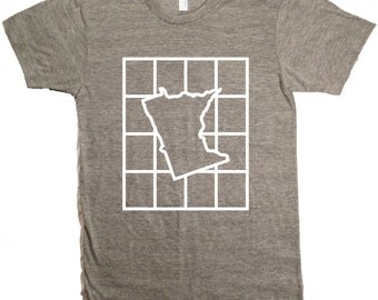 Checkered Minnesota T-Shirt