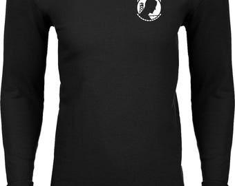 Men's Pow Mia Pocket Print Thermal Shirt 21440E9-PP-N8201