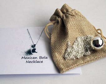 Pregnancy Necklace ~ Baby Shower ~ Pregnancy Gift ~ Harmony Bell ~ Chime Ball ~ Mum To Be Gift ~ Mexican Bola Necklace ~ Baby Feet or Dummy