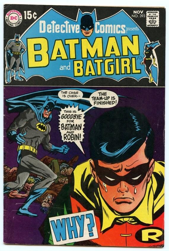 Detective Comics 393 Nov 1969 VG/FI (5.0)