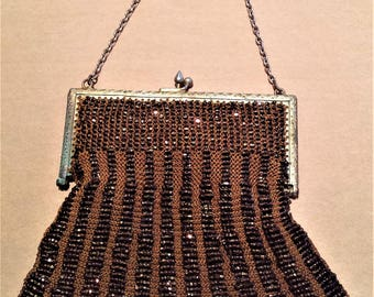 Edwardin, Hand-Beaded Hand Bag