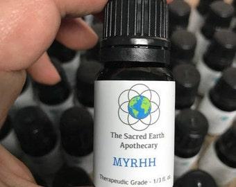 Myrrh Essential Oil Pure Therapeutic Grade - 10 ml
