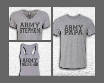 Army Family Jersey Style Shirts