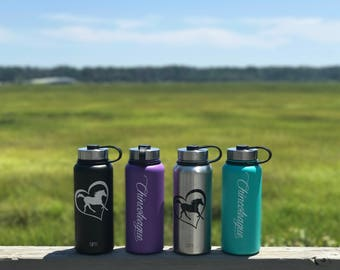 Chincoteague Pony Wide-Mouth Water Bottle
